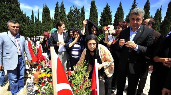 Selvi Kılıçdaroğlu Ve Kızı Zeynep, Maden Şehidi İkizlerin Baba Evinde (2)