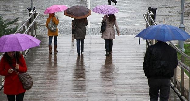 Şemsiyesiz sakın dışarı çıkmayın!