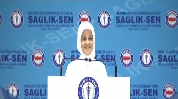 Şenay Hemşire Başbakan Erdoğan'dan 'yıpranma Payı' İstedi, Salonda Alkış Tufanı Koptu (1)