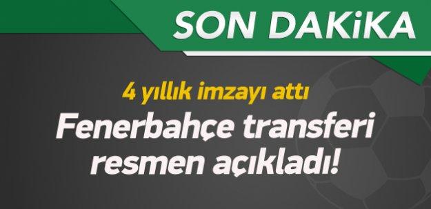 Şener Özbayraklı resmen Fenerbahçe'de!