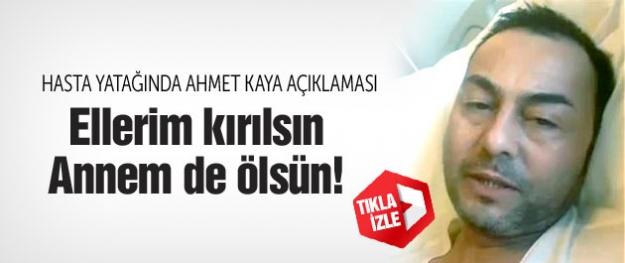 Serdar Ortaç: Ahmet Kaya'ya çatal attıysam annem ölsün