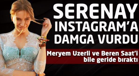 Serenay Sarıkaya Instagram'a damga vurdu!