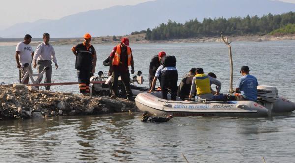Serinlemek İçin Girdiği Baraj Gölünde Kayboldu (2)