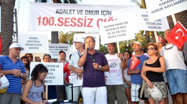 Sessiz Çiğlik Eylemi Bodrum'da Da 'dalya' Dedi