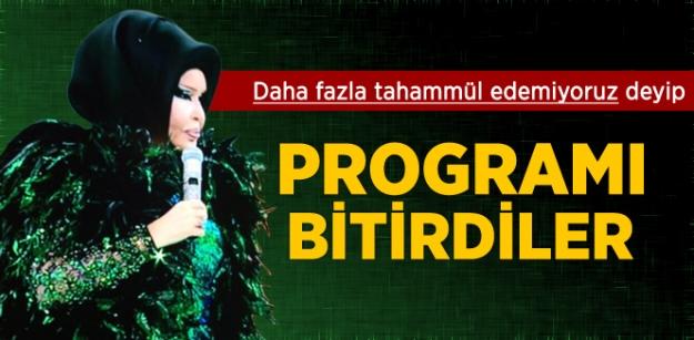 Show TV, Bülent Ersoy'un Programını Bitirdi!