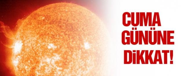 Şiddetli güneş fırtınası dünyaya doğru ilerliyor!