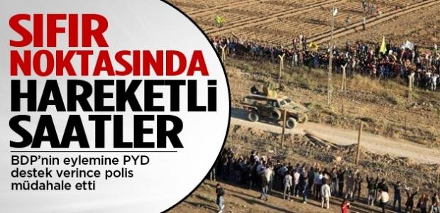 Sınırda BDP destekli gerginlik!