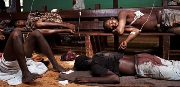 Sığındıkları camide ölümü bekliyorlar!