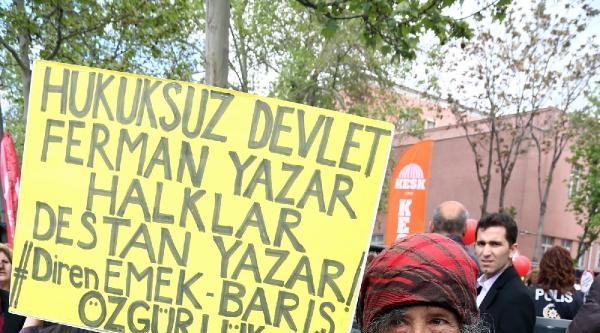 Sıhhiye Meydanı'nda 1 Mayıs Emek Ve Dayanışma Günü  / Ek Fotoğraflar