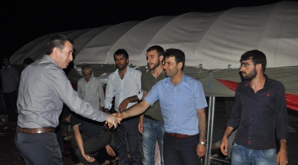 Siirt'te Karakol Eylemcileri Askerle Çatişti