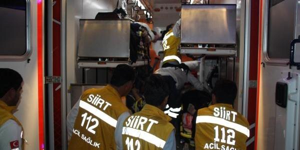 Siirt'te Kaza: 2 Ölü, 4 Yarali