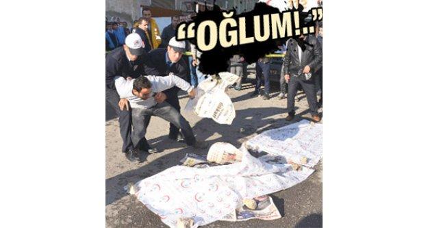 Siirt'te okula giden çocuğa kamyonet çarpıp kaçtı
