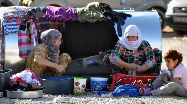 Silopi Ve Cizre'ye Gelen Ezidilerin Sayısı Bin 500'ü Buldu