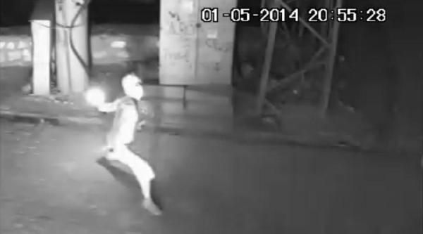 Silopi'de Dershane Saldırısı Kamerada