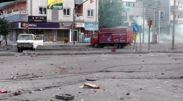Silopi'de Elektrik Protestosunda Olaylar Çikti (2)