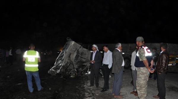 Silopi'de Kaza: 2 Ölü, 3 Yaralı