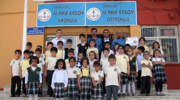 Silopi'de Öğrenciler Annelerine Mektup Yazdı