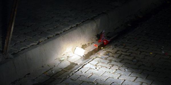 Silopi'De Polise Atilan Bomba Patlamadi