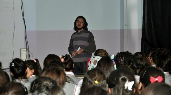 Silopi'de Polisten Lise Öğrencilerine Bilgilendirme Semineri