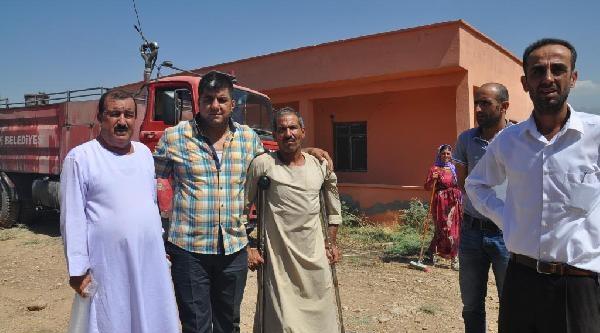 Silopi'ye Gelen Ezidiler, Deprem Konutlarına Yerleştirildi (2)