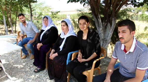 Silopi'ye Gelen Ezidiler, Deprem Konutlarına Yerleştirildi (3)