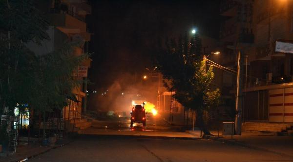 Silvan'da İzinsiz Gösteriye Polis Müdahalesi