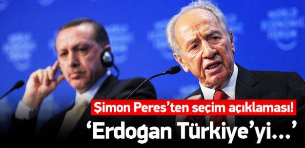 Şimon Peres'ten seçim yorumu