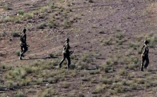 Sınırda çatışma: 1 asker yaralı...