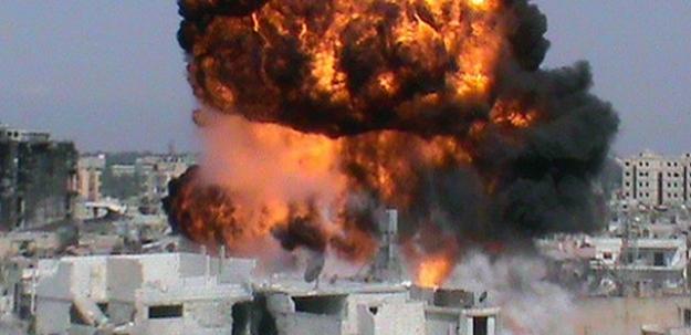 Sınırda şiddetli patlama, çok sayıda ölü ve yaralı var!