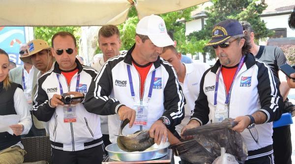 Sinop'da Zıpkınla Balık Avlama Yarışması