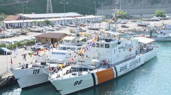 Sinop'ta Balikçilarin Ağina Takilan Iha Inebolu'da
