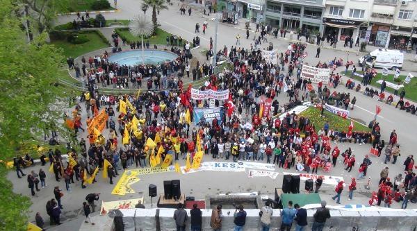 Sinop'ta Halaylı 1 Mayıs Kutlamaları