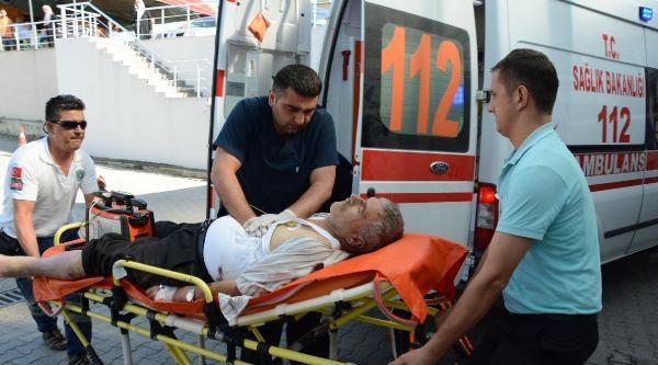 Sinop'ta Kamyonet Takla Attı :1 Ölü, 2 Yaralı