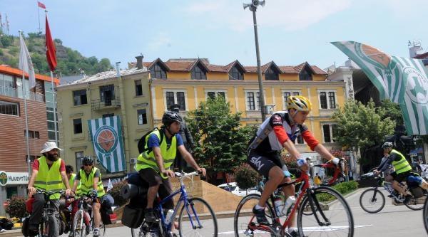 Sinop'ta Nükleer Santrale Karşı Pedal Çeviriyorlar