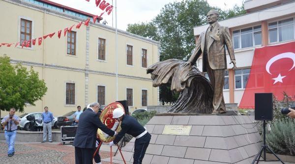 Sinop'ta Zafer Bayramı'nda Şehit Anıtı Açıldı