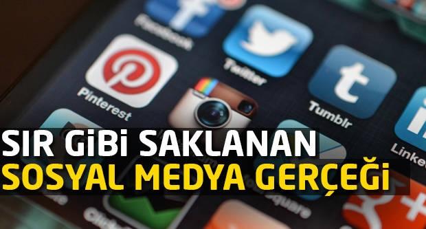 Sır gibi saklanan sosyal medya gerçeği!