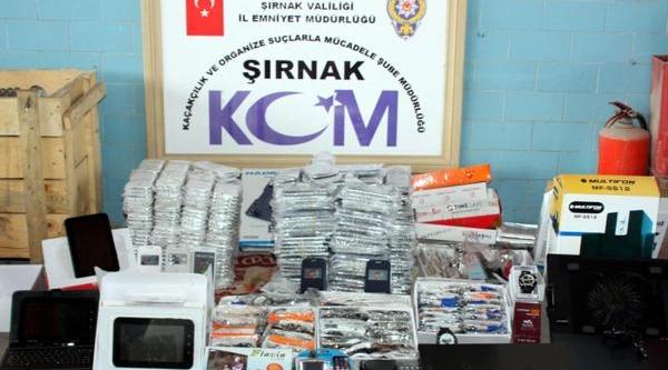 Şirnak Polisinden 4 Milyon Liralik Kaçakçilik Operasyonu