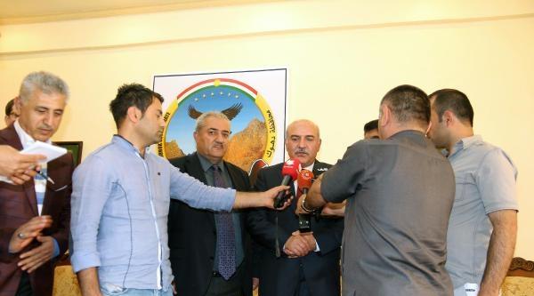 Şirnak Valisi İpek, Duhok'ta 3 Sınır Kapısının Anlaşmasını İmzaladi