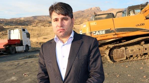 Şirnak'ta Araçlari Yakan Pkk'lilar Işçileri De Tehdit Etmiş (2)