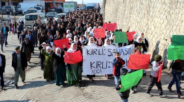 Şirnak'ta Fuhuşu Protesto Yürüyüşü