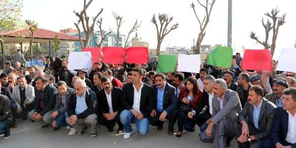 Şirnak'ta Termik Santral Protestosu