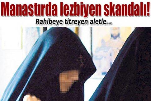 Sırp manastırında lezbiyen skandalı