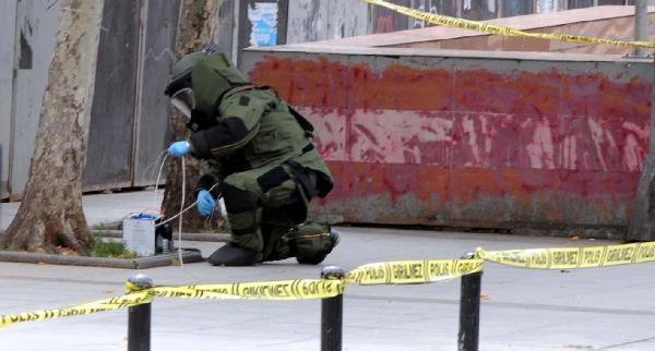 Şişli'de Şüpheli Paket Kontrollü Patlatıldı