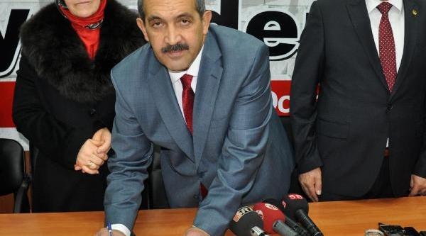 Sivas Belediye Başkani Ürgüp, Adaylik Başvurusu Yapti