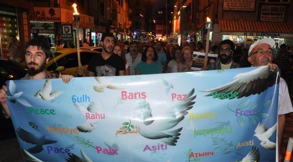 Sivas Demokrasi Platformu'ndan 'barış' Çağrisi