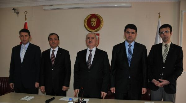 Sivas Valisi Alim Barut Göreve Başladı