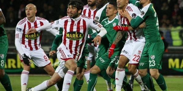 Sivasspor - Bursaspor Ek Fotoğraflar