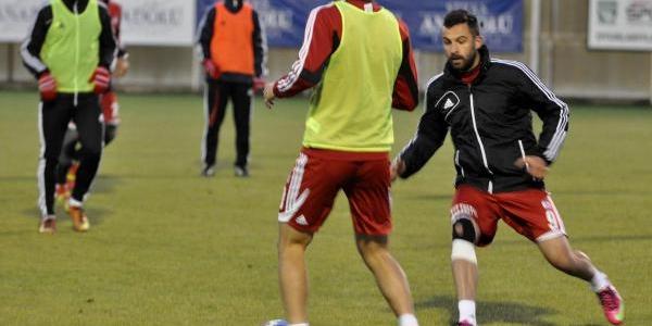 Sivasspor, Bursaspor Maçi Hazirliklarina Başladi