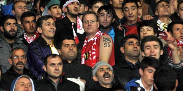 Sivasspor-Bursaspor Soyunma Odalari