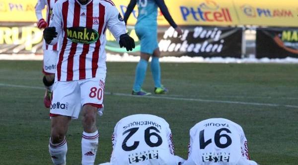 Sivasspor - Çaykur Rizespor: 3 - 1